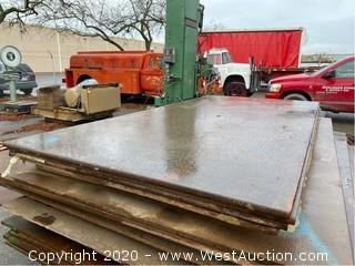 (4) Trench Plates