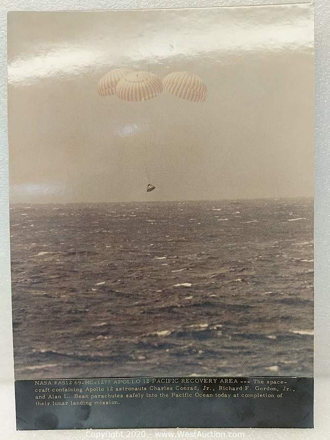 Official Vintage NASA Publications of Apollo Expeditions (Photos and Prints)
