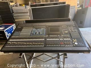 Yamaha PM5D Mixing Board With Power Supply And Cases