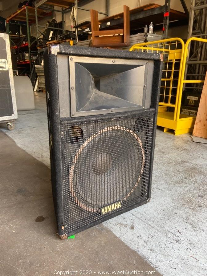 Online Auction of Audio and Visual Equipment in Orange County, California