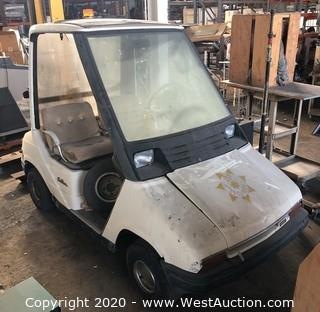 Custom Yamaha Sun Classic Golf Cart