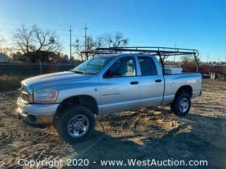 2006 Dodge Ram 2500 ST Diesel 4WD Quad Cab with Transfer Tank