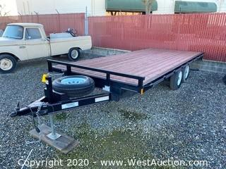 2017 Innovative 18' Flatbed Trailer
