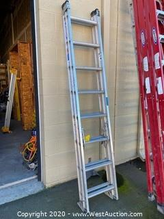 Werner 16' Aluminum Extension Ladder