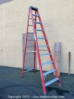 Werner 10' Fiberglass Ladder