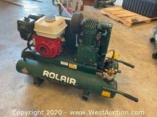 Rolair 5.5 H.P. 9 Gallon Portable Air Compressor