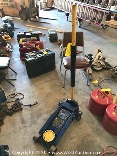 Napa 3-1/2 Ton Professional Hydraulic Jack