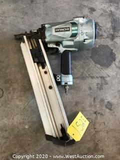 "Hitachi NR90AC5 3-1/2"" Strip Nailer"