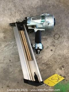 "Hitachi NR90AC5 3-1/2"" Pneumatic Strip Nailer"