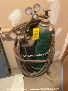 Oxyacetylene Welding Set