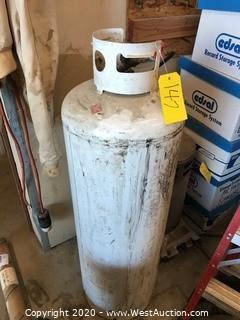 4' Tall Heavy Duty Propane Tank