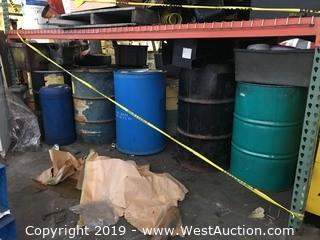 Bulk Lot; Drum Barrels, Air Tank, And More
