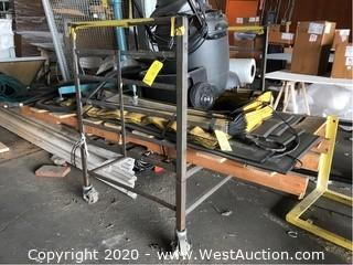 Steel Frame Push Cart