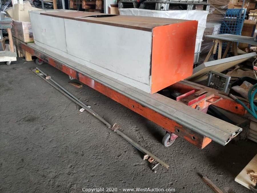 Post Auction of Online Tenant Abandonment Auction of Machinery and Tools