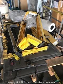 Bulk Lot: Pallet of ControlMats, Plastic Sheeting, & More