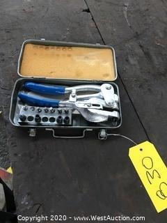 Lustre Line 8500 Power Punch & Die Tool Kit