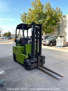Clark 4,450 Lb Capacity Propane Forklift
