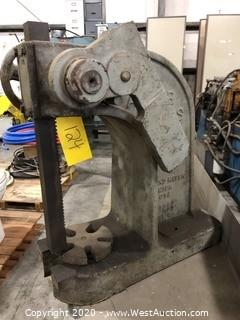Drake Ratchet Lever 3 Ton Arbor Press Model 1 1/2