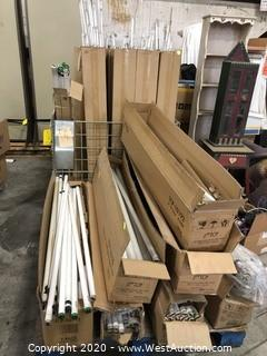 Bulk Lot: (2) Pallets of Fluorescent & LED Tube Bulbs