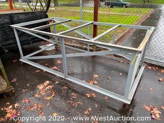 Steel Frame Material Cart 8' x 4' x 3'
