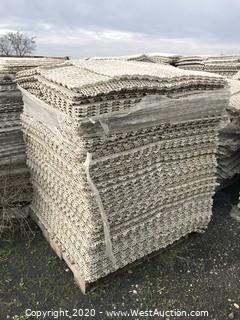 (1) Pallet of Plastic Underlayment Drain Mats