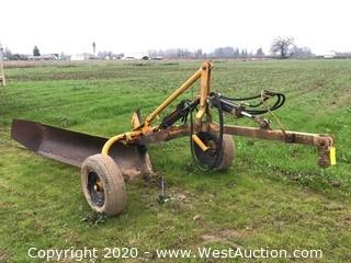 14'x8' Hydraulic Plowing Attachment