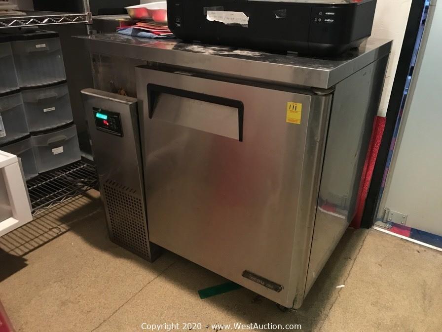 Online Auction of Restaurant Equipment for Sale in Roseville, CA