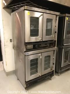 Montague Double Deck Full Size Bakery Commercial Gas Oven