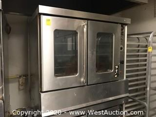 Montague R85A/E/ Commercial 2-Door Gas Oven