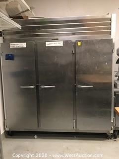 Traulsen G30010 3-Door Commercial Refrigerator