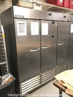 Beverage-Air KR74-1AS 3-Door Commercial Refrigerator/Freezer