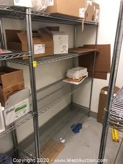 """NSF Wire Shelf Rack 60""""x18""""x72"""""""