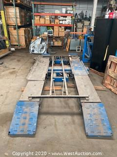 Hunter Engineering D1-M Diagnostic/Service Lift Rack
