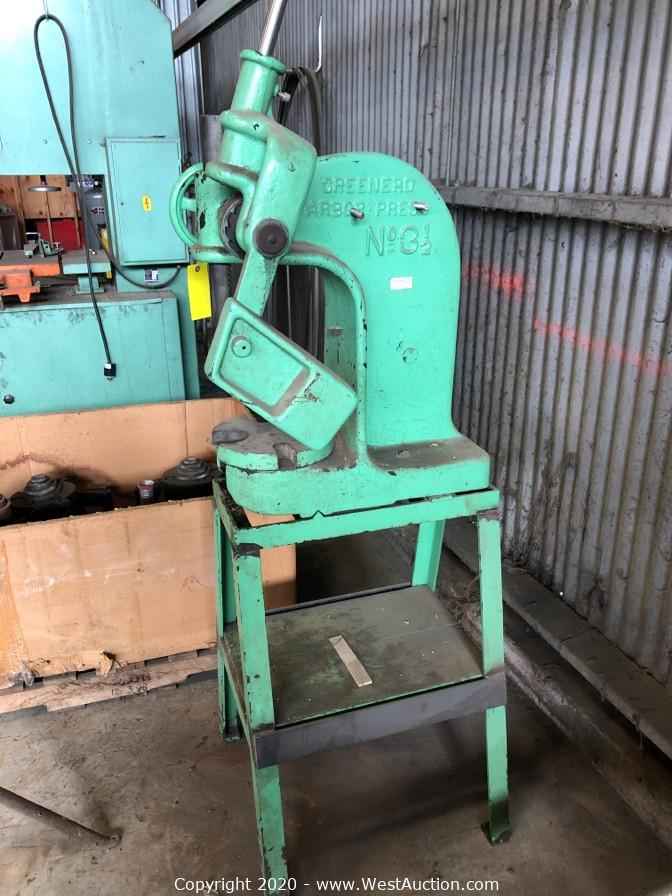 Online Auction of Machinery and Tools for Sale in Berkeley, CA