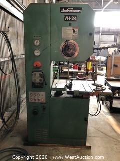 Dake Johnson VH-24 Band Saw