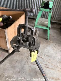Pipe Vise Stand