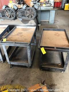 (2) Tool / Utility Carts