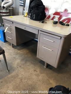 SteelCase Heavy Duty Desk