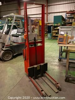 Wesco Electric Stacker