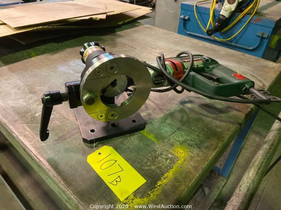 Retirement Auction of Jenson Mechanical, Inc. in Union City, CA (Part 1 of 3)