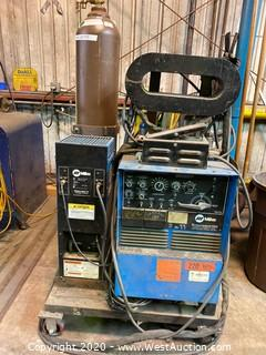 Miller Syncrowave 250 Arc Welder with Miller Watermate 1A Cooling System