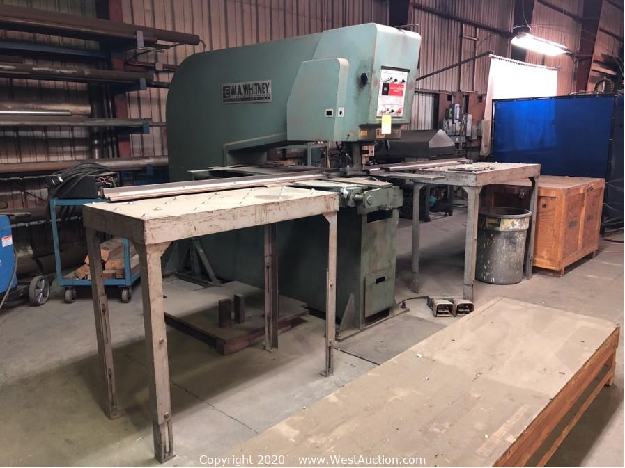 Retirement Auction of Jenson Mechanical, Inc. in Union City, CA (Part 1 of 3)