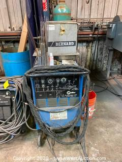 Miller Syncrowave 250 Arc Welder with Bernard Gas Pump
