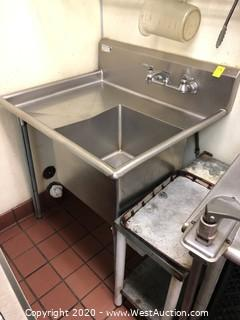Stainless Steel Single Compartment Sink