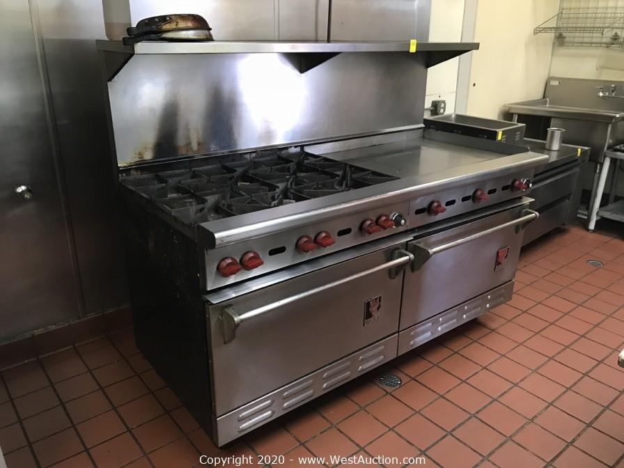 Court Order Auction of Commercial Restaurant Equipment from Sweet and Savory Bakery