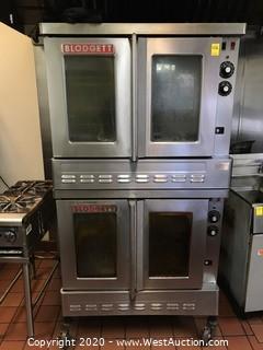 Blodgett Double-Decker Commercial Gas Oven