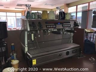 La Spaziale S5 Caffe D'Autore 2-Group Espresso Machine
