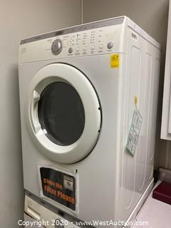 LG Tromm Front Load Dryer