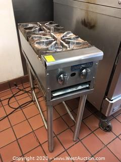 Imperial 2 Burner Gas Stove