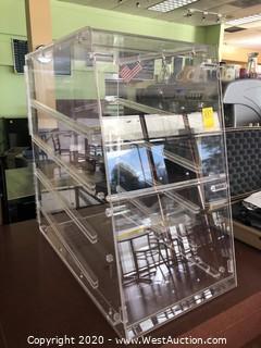 Counter Top Acrylic Food Display Case